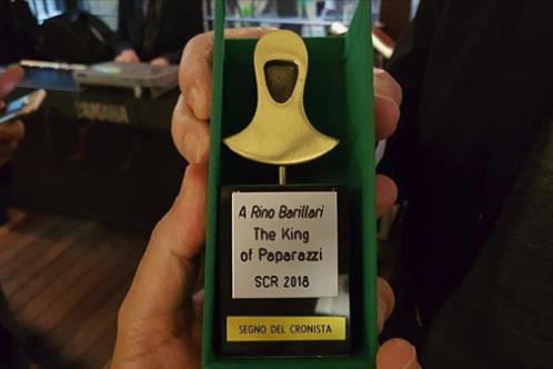 """A Rino Barillari il """"Segno del Cronista"""" 2018"""